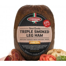 D'orsogna Triple Smoked Ham (Approx: 0.85kg)