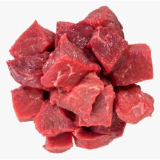 Beef Diced 95% 24mm Cubed (1kg Pack)