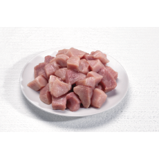 Pork Diced 24mm Cubed (1kg Pack)