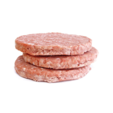 Beef Burgers (Frozen) 120gm (Salt & Pepper - Pack of 10)