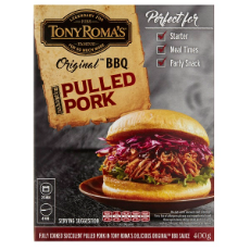 SPECIAL - TR's Pulled Pork in Original BBQ Sauce Frozen 400g $12.34 per packet
