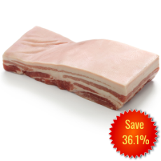 Pork Belly Skin On Bone In (20 kg Cartons)